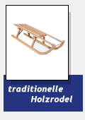 traditionelle Holzrodel